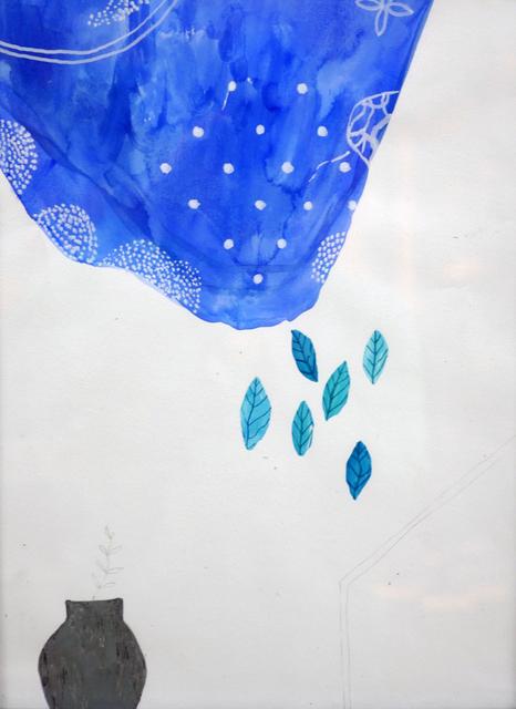 , 'Rain on a Flower Pot,' 2016, Museum of Modern Art Dubrovnik