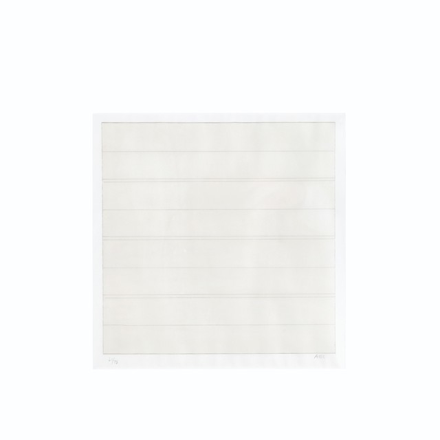 Agnes Martin, 'Untitled', 1998, Print, The complete set of four lithographs in colors, on Gilclear paper, Christie's