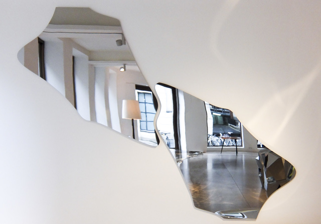 , ''Cloud-1' Pair of Mirrors ,' 2013, David Gill Gallery