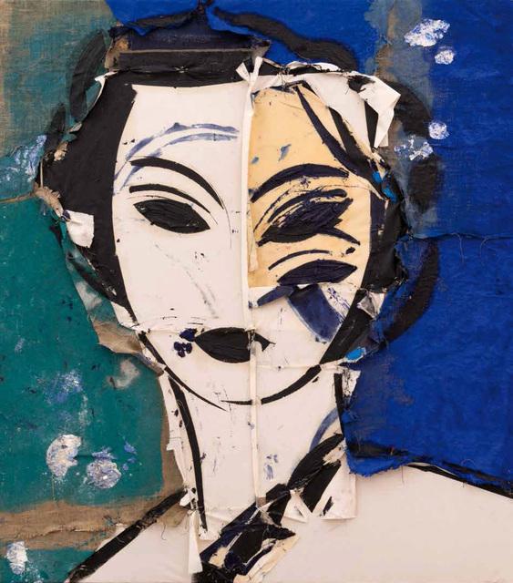 , 'Retrato sobre fondo azul,' 1997, Opera Gallery