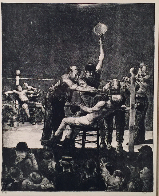 , 'BETWEEN ROUNDS,' 1916, Edward T. Pollack Fine Arts