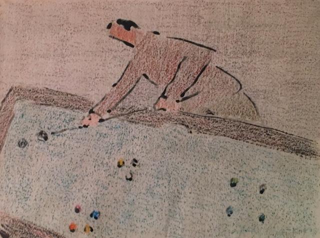 , 'Billiards Player,' 1956, Chowaiki & Co.