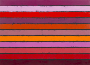 Untitled (Striped Painting #15)
