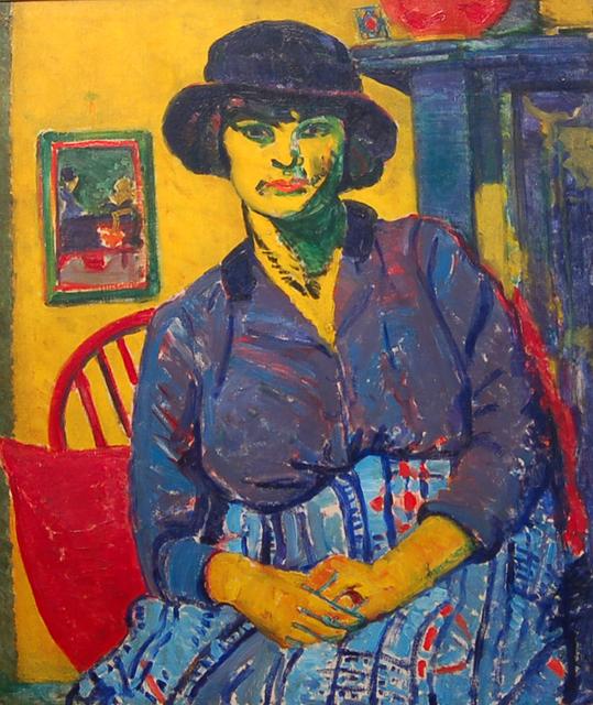 Matthew Smith, 'Connie Martin', 1915, Piano Nobile