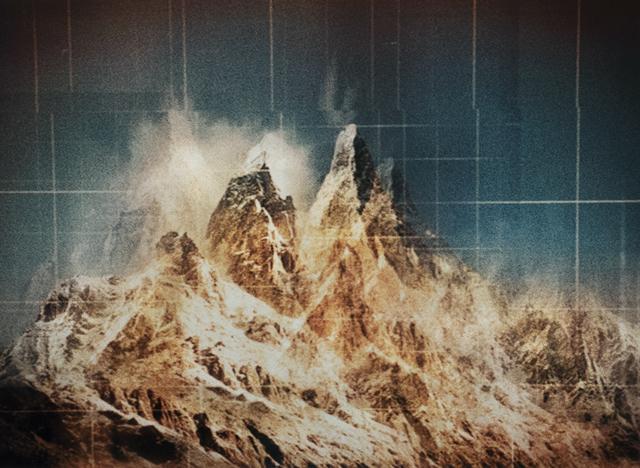 , 'Swiss Alps,' 2015, CFHILL