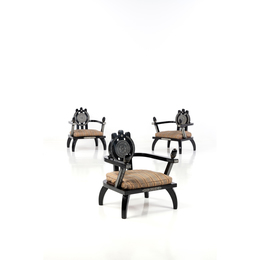 Set of three Armchairs