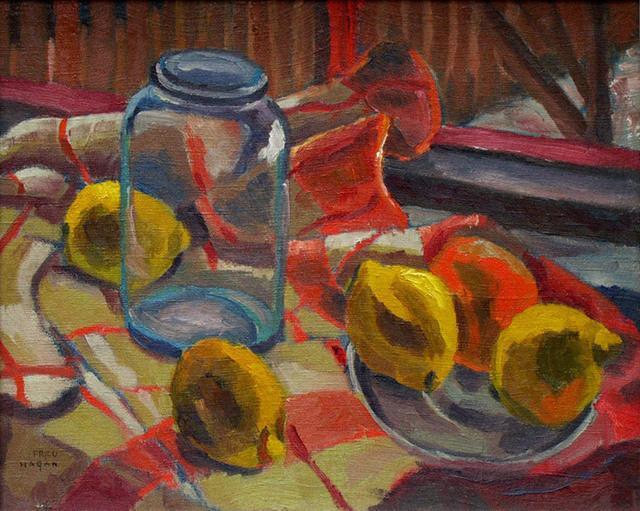 Frederick Hagan, 'Lemons at the Studio Window', 1938, Bau-Xi Gallery