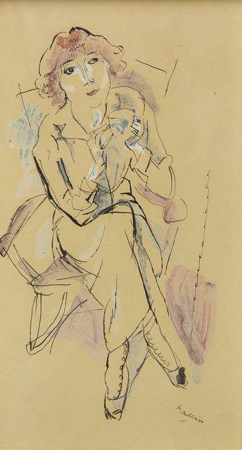 Jules Pascin, 'Hermine David, l'épouse de Pascin (The wife of Pascin)', Roseberys