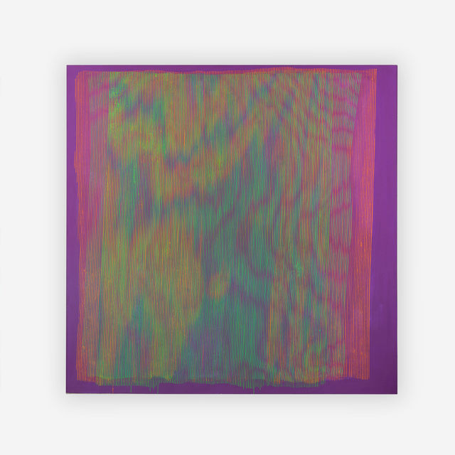 Steve DiBenedetto, 'Untitled (Neon)', 1990-96, Painting, Acrylic on canvas, Capsule Gallery Auction