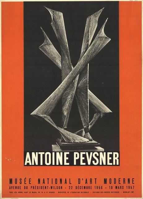 Antoine Pevsner, 'Musee National D'Art Moderne', 1957, ArtWise