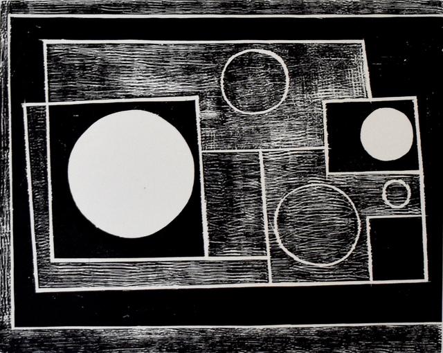 Ben Nicholson, 'Five Circles', 1934-1962, Gilden's Art Gallery