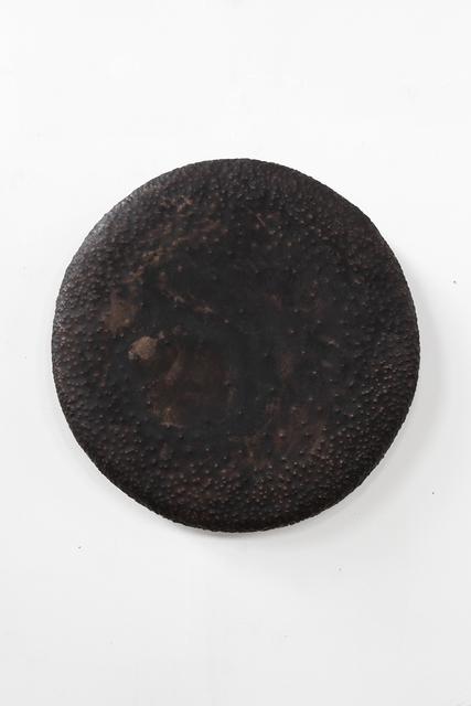 ", '""Good Vibe Gong (black patina)"",' 2016, Wentrup"