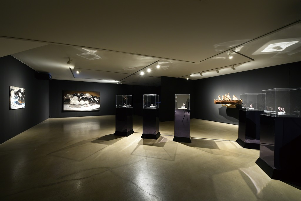 Installation view of Atheism Report, 2015