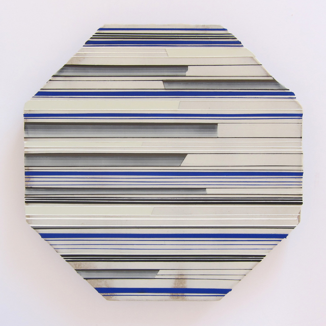 , 'Interrupted Bliss in Blue,' 2014, Albert Merola Gallery