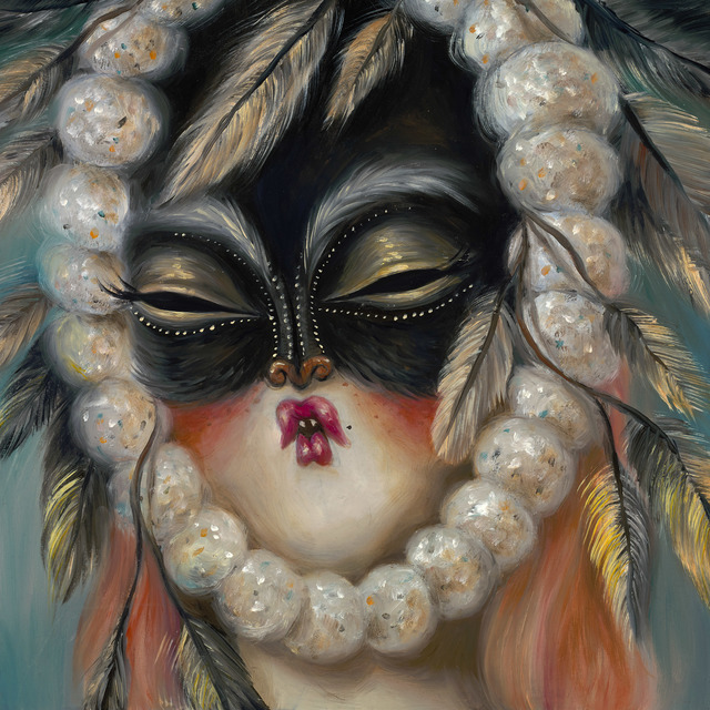 Miss Van, 'Pom Pom Mask I', 2018, Fousion Gallery
