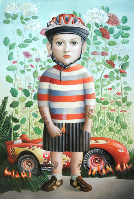 , 'Boy with Car,' , Front Room Gallery
