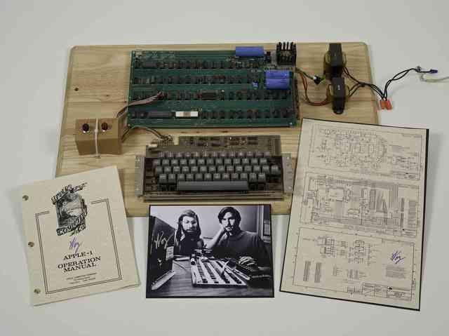 'An Apple-1 Personal Computer', 1976, Christie's Warhol Sale