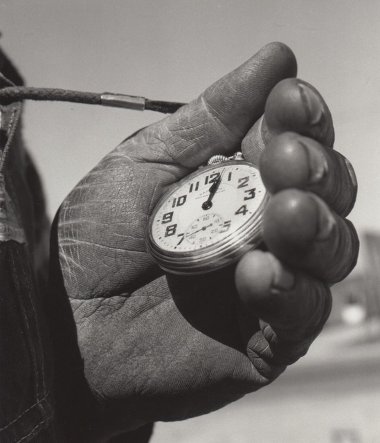 , 'T&S Ry Track Foreman's Watch, Escalon, CA,' March 1962, Robert Mann Gallery