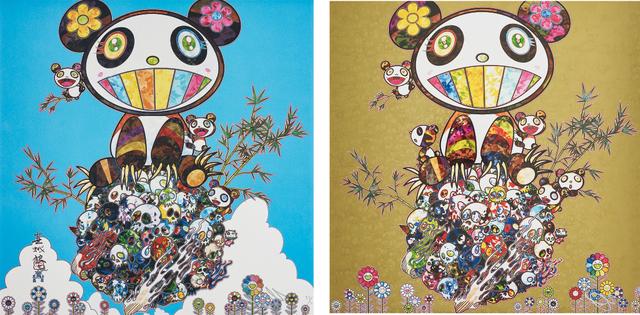 Takashi Murakami, 'Family Happiness; and Panda Family', 2014; and 2016, Phillips