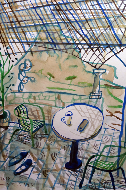 , 'El porche de la Plana,' 2018, Pepita Lumier