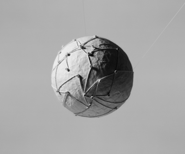 , 'Field Note: Globe with string,,' 2015, Brownie Project