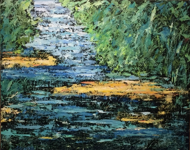 , 'Waters of March,' 2018, Studio 13 Fine Art