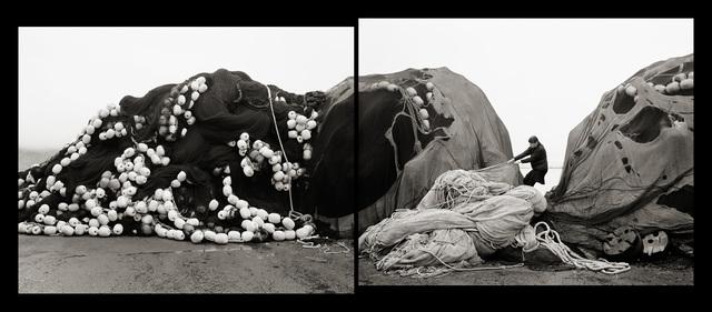 , 'Self Portrait, Pulling Nets, Neskaupsstaður, Iceland,' 2014, Panopticon Gallery