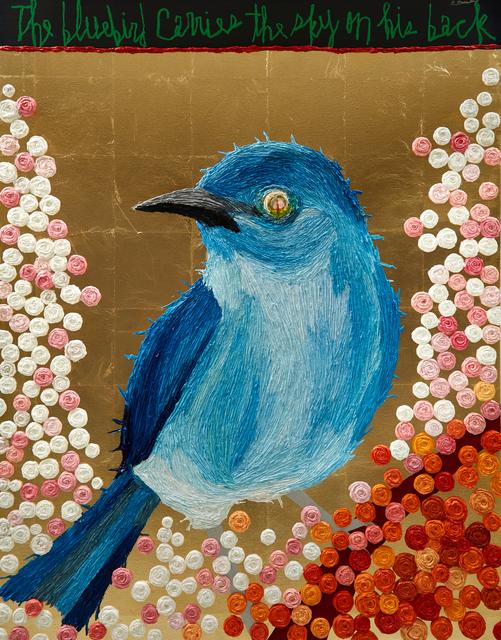 Woo Kuk Won, 'Bluebird', 2020, Painting, Oil on canvas, ATELIER AKI