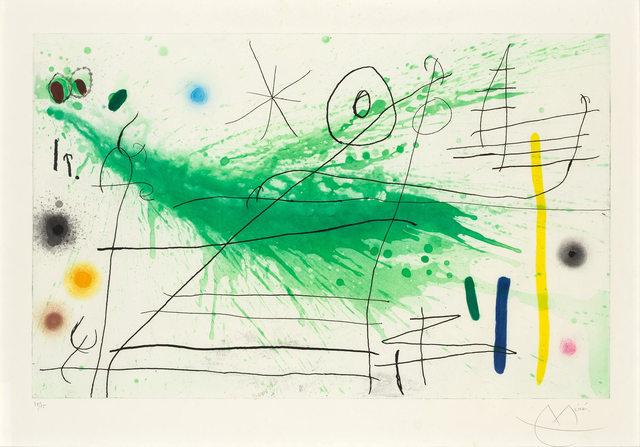 Joan Miró, 'PARTIE DE CAMPAGNE III (DUPIN 432)', 1967, Doyle