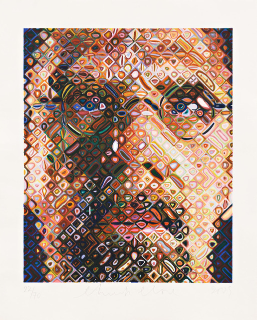 , 'Self-Portrait Woodcut,' 2009, Pace Prints