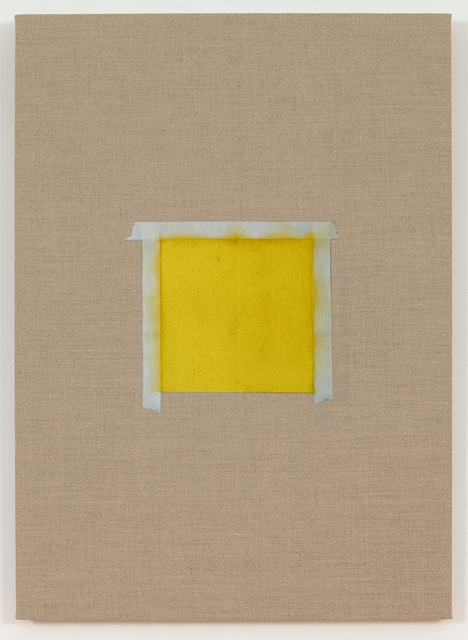 , 'One after another (Square with YELLOW Paint),' 2015, Peana Projects