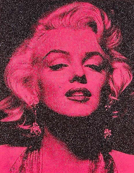 Russell Young, 'Marilyn Portrait California (Hollywood Pink)', 2014, Maddox Gallery