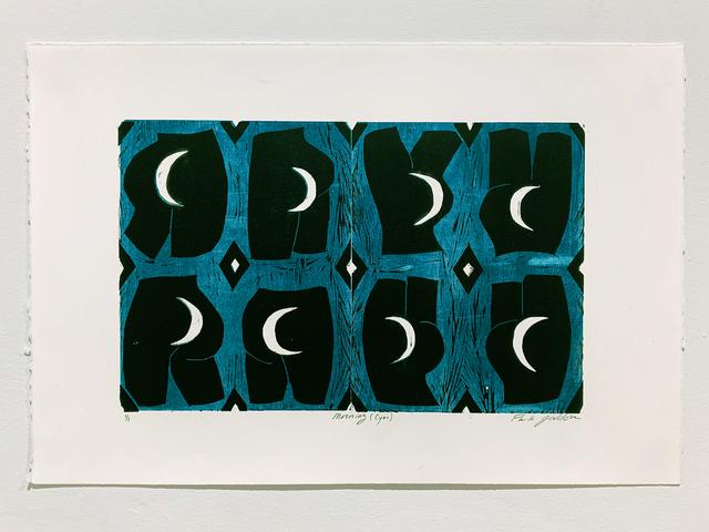 , 'Mooning (Cyan),' 2019, Denny Dimin Gallery