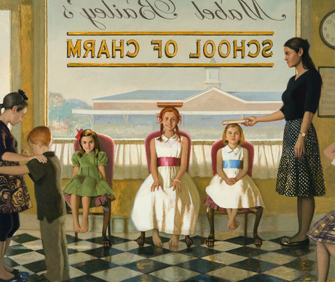 Bo Barlett, 'School Of Charm', ArtStar