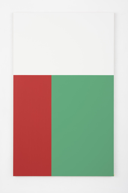 , 'Phi Painting (Green, Red),' 2016, Slewe Gallery