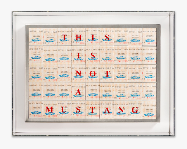 Santiago Montoya, 'This Is Not A Mustang', 2013, Halcyon Gallery