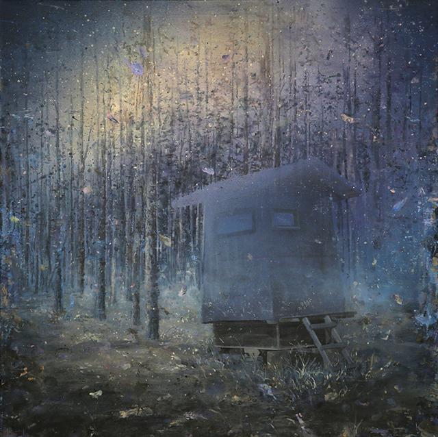 Harald Hermann, 'Das Wunder der fliegenden Festung', 2014, Anna Jill Lüpertz Gallery