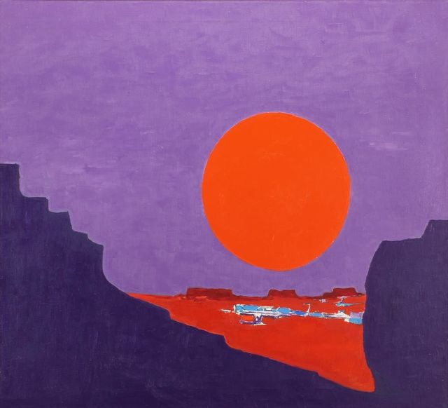 , 'Inner Gorge ,' 1970, Addison Rowe Gallery