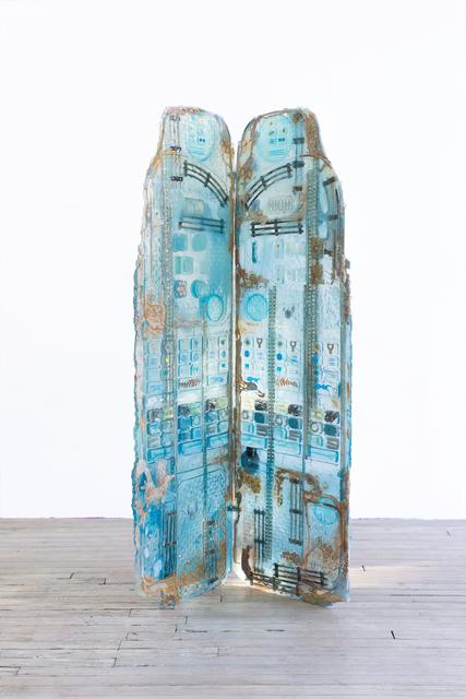 , 'Dressing Screen (Larimar),' 2017, 315 Gallery