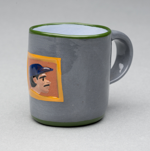 , 'Mezcal Cup (Baseball Player),' , Aaron Payne Fine Art