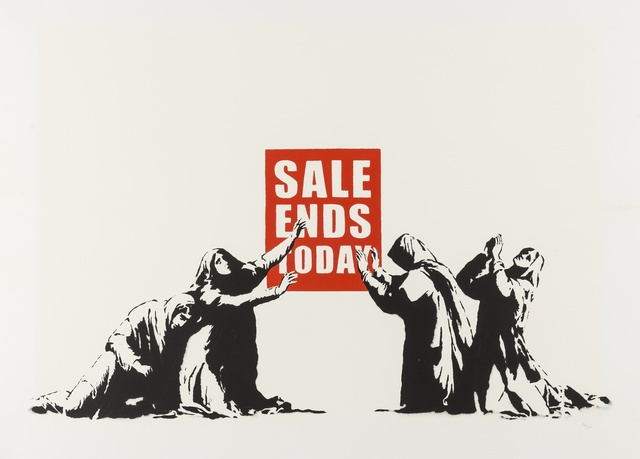 Banksy, 'Sale Ends 'LA Edition'', 2007, Forum Auctions