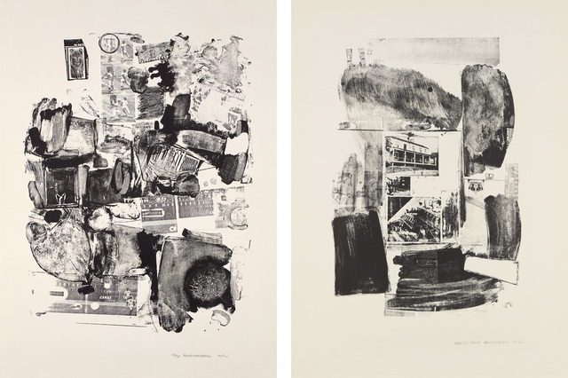 Robert Rauschenberg, 'Urban; and Suburban', 1962, Phillips
