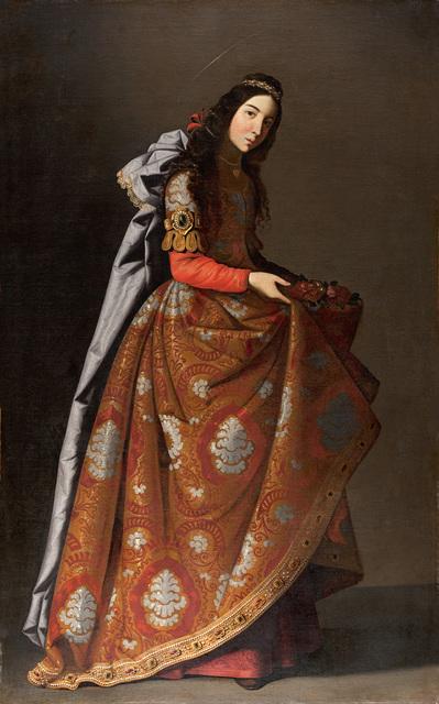 , 'Santa Casilda (Saint Casilda),' ca. 1635, Museo Thyssen-Bornemisza