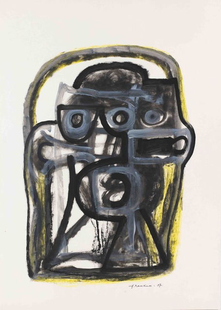 ", '""A head"" 1,' 1997, Krokin Gallery"