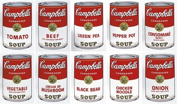 Andy Warhol, 'Campbell's Soup I Portfolio', 1968, Print, Screenprint on paper, Collectors Contemporary