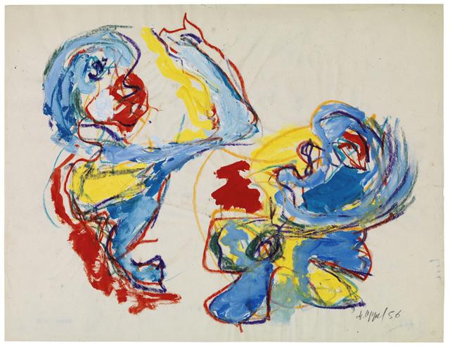 , 'Fight,' 1956, Jahn und Jahn