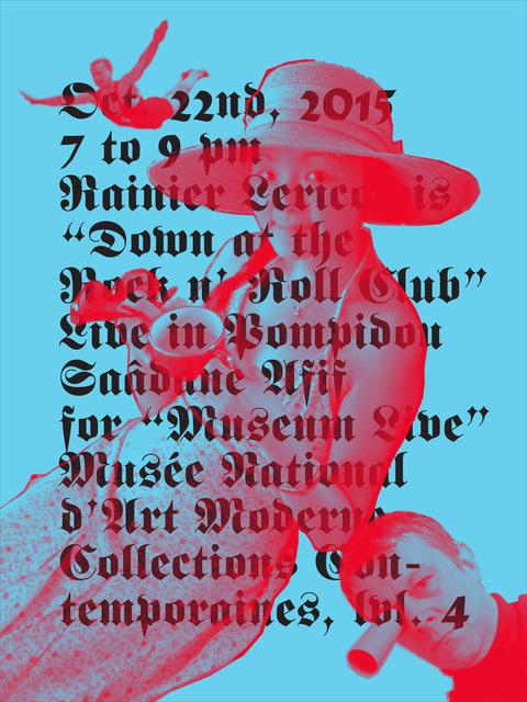 , 'R.L / Pompidou II (poster),' 2015, mfc - michèle didier