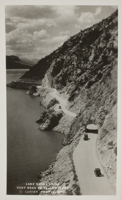 , 'Lake Shore Drive, Cody Road to Yellowstone,' ca. 1940, George Eastman Museum