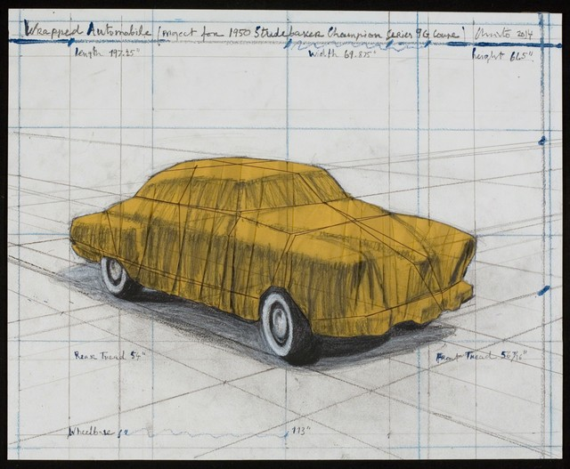, 'Wrapped Automobile (Project for 1950 Studebaker Champion, Series 9 G Coupe),' 2015, Aurifer AG