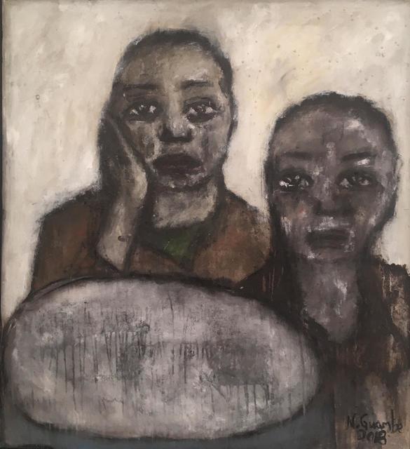 Nelly Guambe, 'Sisters', 2018, Ed Cross Fine Art